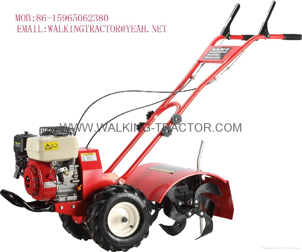 trolley type power tiller