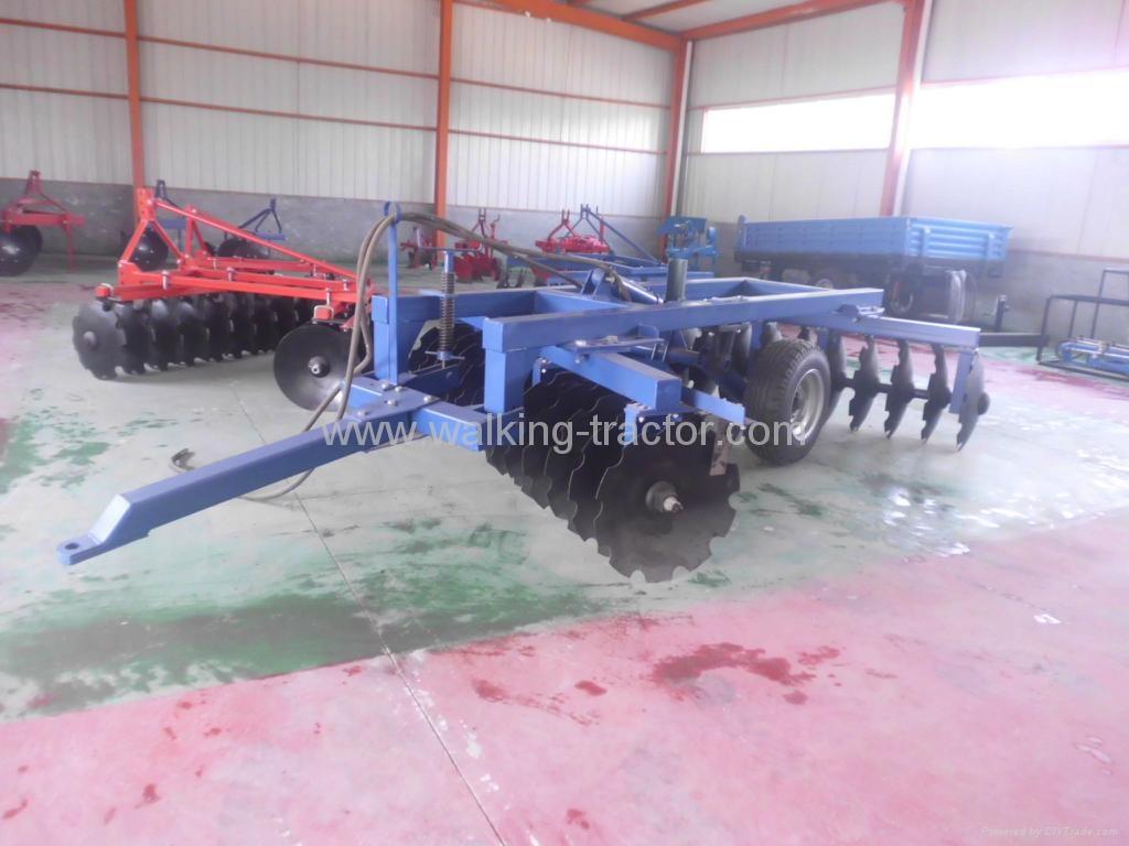 hydraulic cut opposite heavy duty disc harrow