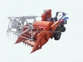 mini combined rice and wheat harvester 1