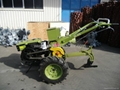 WALKING TRACTOR WITH PLOUGH