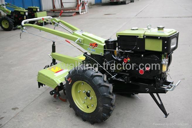 ZUBR Walking Tractor