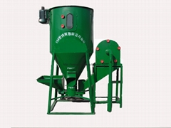 Animal feed stuff grinding and mixing machine