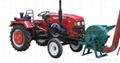 straw shredder for walking tractor