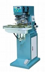 HX-P2/C Pneumatic two color pad printer