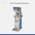 HX-S1 Pneumatic single color pad printer