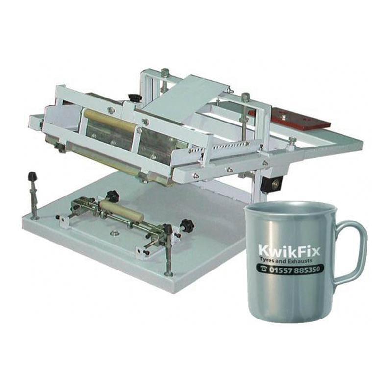 HS-S1 Manual cylinderical screen printer 1