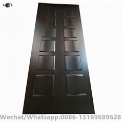 Melamine faced door skin