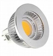 UL COB led light bulbs 5W 450lm MR16 lamp