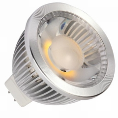 COB led spotlight MR16 5W 450lm UL approval