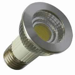 led down lamp, dimmable spot bulb, 6w 650lm E27/E26