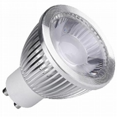 700LM GU10 6W light bulbs cob not dimmable led lamps
