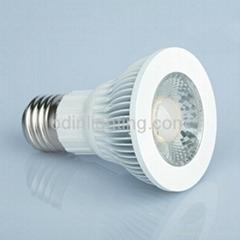 7 Watts LED PAR20 light bulbs dimmable COB ETL cETL qualified