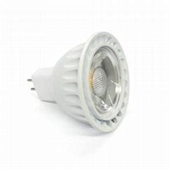 gu10 halogen base mr16 cob led spotlight 5W 12V