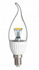 led candle lampe e14 80ra filament bulb