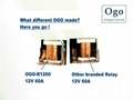 OGO Branded Automotive Relay 12V 60A