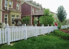 pvc花坛围栏