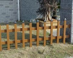 社区pvc塑钢护栏