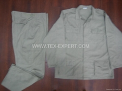 100%cotton new uniform clothes