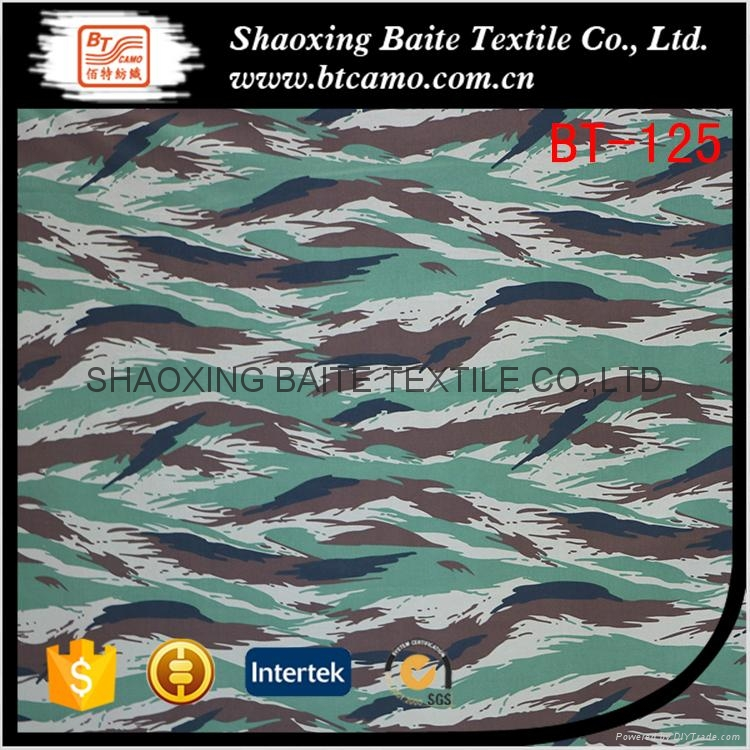 OEM service camouflage fabric for military uniform BT-125 1