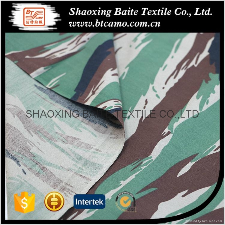 OEM service camouflage fabric for military uniform BT-125 3