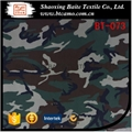 Cotton polyester printing camouflage fabric for miltary uniform BT-073