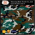 China supplier ramie cotton woodland printing camouflage fabric BT-023
