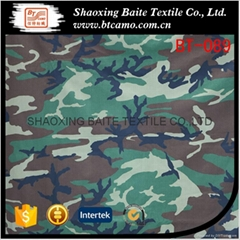 China supplier miltary camouflage fabric for woodland jackets BT-089