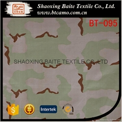 Wholesale printing twill miltary camouflage fabric BT-095