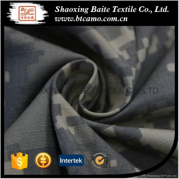 China product cotton polyester camouflage fabric for jackets men BT-097 2