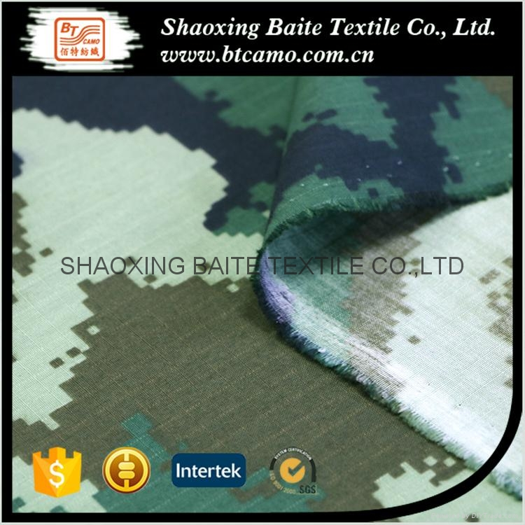 Good quality printing camouflage fabric for military uniforms BT-103 4