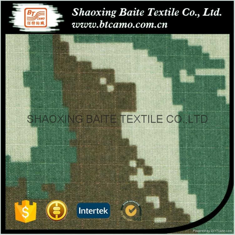 Good quality printing camouflage fabric for military uniforms BT-103 5