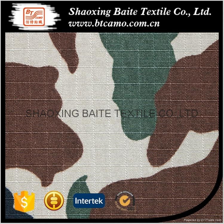 Reliable quality cotton camouflage printing fabric BT-107 5