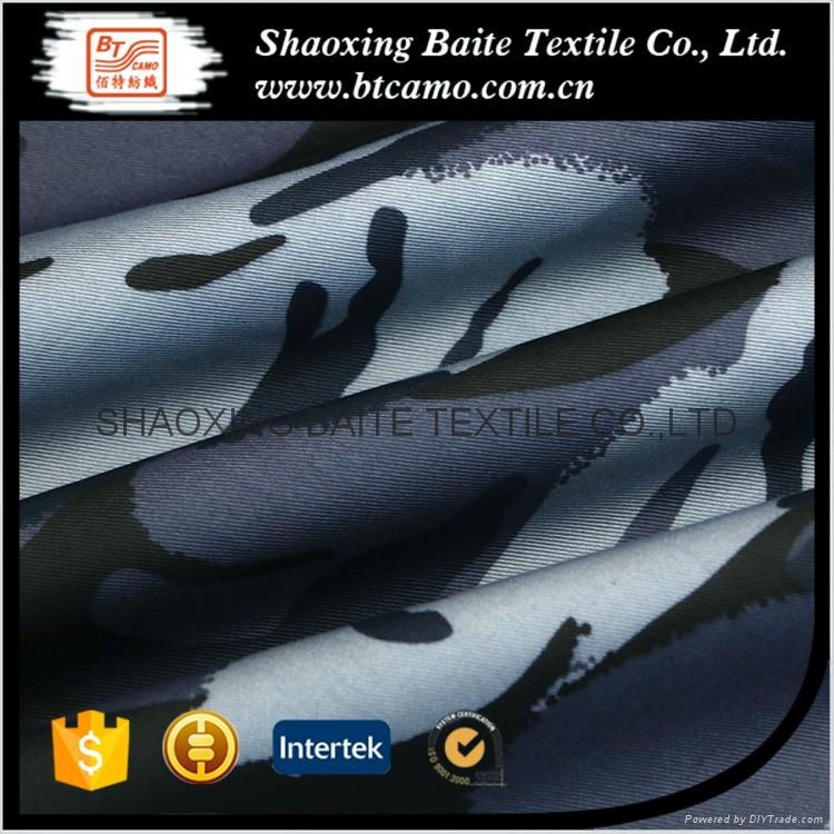 Polyester cotton printing camouflage fabric for navy military uniform BT-112 3