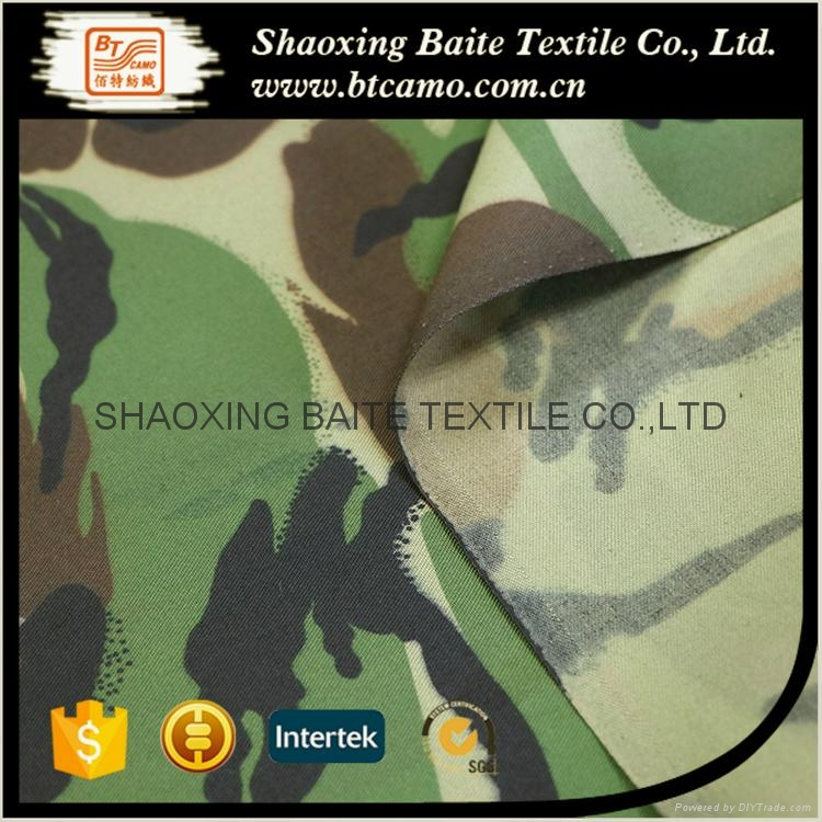 Wholesale woodland camouflage fabric for military uniform BT-117 4