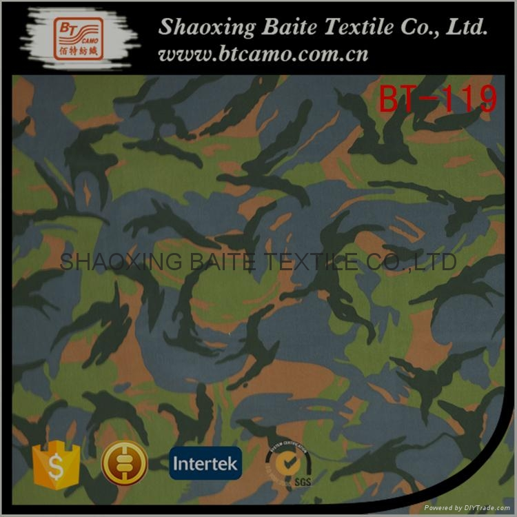 China supplier camouflage fabric for military uniform BT-119 1