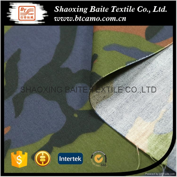 China supplier camouflage fabric for military uniform BT-119 4
