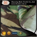 China woodland camouflage fabric for military uniform BT-138