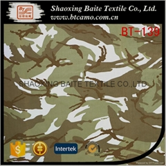 China supplier textile cotton polyester miltary camouflage fabric BT-139
