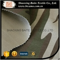 Fashionable brushed cotton miltary camouflage fabric BT-141