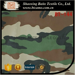 China supplier sateen printing camouflage fabric BT-144