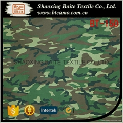 High quality low price Kazakhstan pigment camouflage fabric BT-150