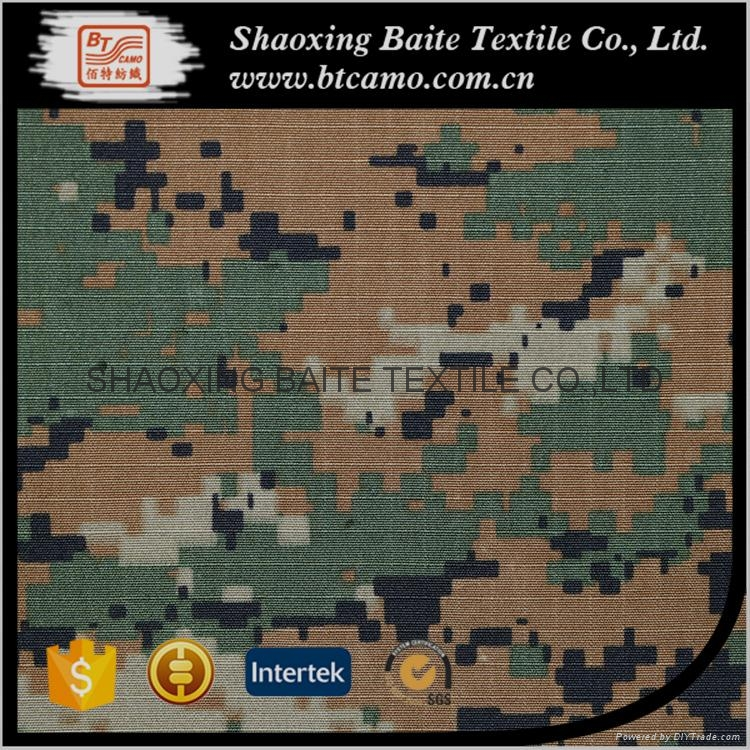 Teflon Anti-infrared cotton nylon digital printing camouflage fabric BT-158 4