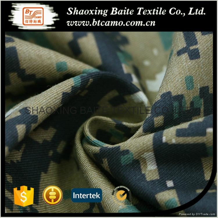 China supplier camouflage fabric for military uniform BT-163 2