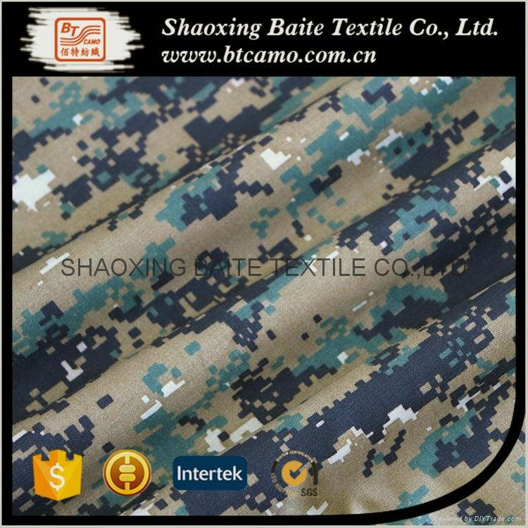 China supplier camouflage fabric for military uniform BT-163 3