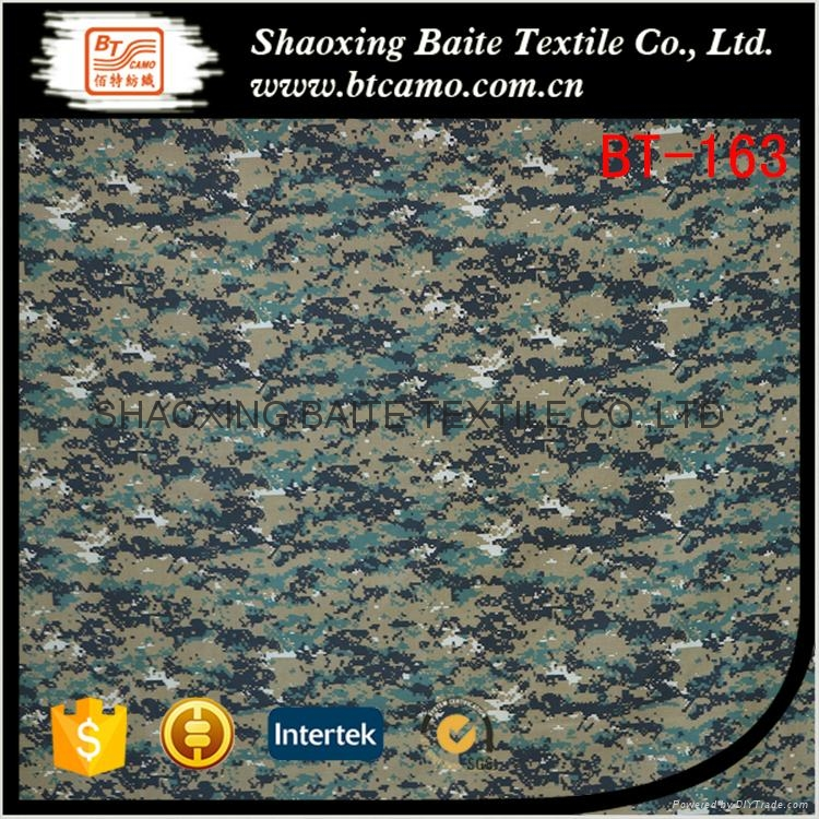 China supplier camouflage fabric for military uniform BT-163 1