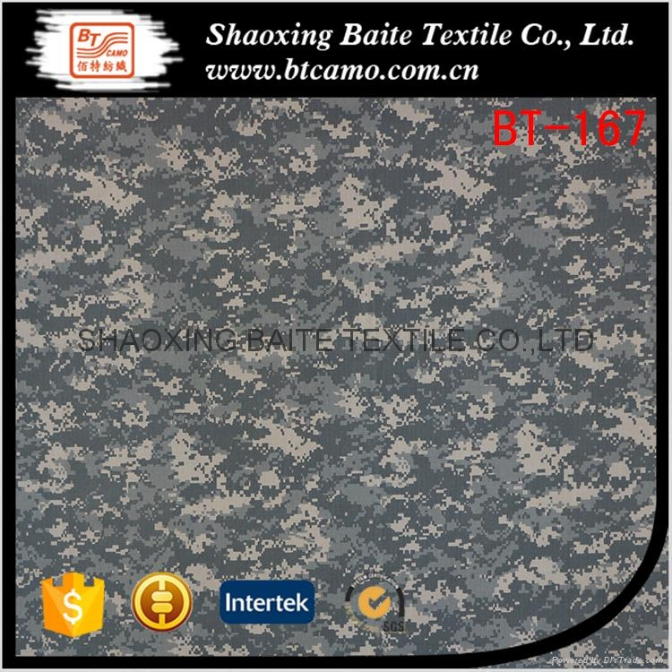 Polyester cotton printing camouflage fabric for military uniforms BT-167 1