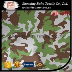 China supplier printing camouflage fabric for miltary uniform BT-177