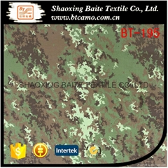 Made in china cheap polyester cotton woodland camouflage fabric BT-195