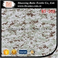 China supplier cotton nylon printing camouflage fabric BT-202 1