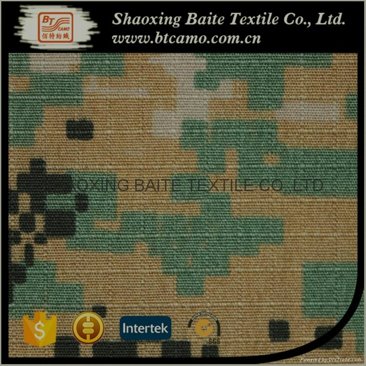 China product polyester cotton camouflage fabric for military uniform BT-243 5